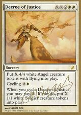 Decree of Justice | NM/M | WCD - World Champion Decks 2004 | Magic MTG