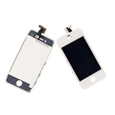 Digitizer & Touch LCD Glass Screen w/Frame OEM for Apple iPhone 4 White GSM