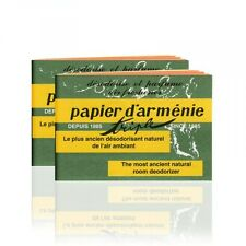 Papier d'Armenie, Natural Room Deodorizer,  Incense Paper, Benzoin, 2 Booklets
