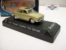 Renault Dauphine u. avec toit ouvrant, or, 1961, solido (Made in France 1:43, OVP