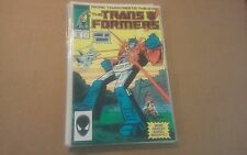 Transformers #34 Marvel  comics November 1987 VF