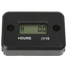 LCD Display Waterproof Inductive Tach / Hour Meter for Marine / ATV / Motorcycle