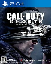 Call of Duty ghost SQAURE ENIX SONY PS4 PLAYSTATION JAPANESE NEW JAPANZON