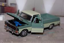 1969 69 FORD F250 RANGER PICKUP TRUCK 1/64 SCALE COLLECTIBLE MODEL - DIORAMA