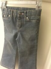 Girls Cherokee 2T Sparky Blue Jeans EUC