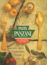 Publicité 1961  PASTA PANZANI pates à l'italienne ...
