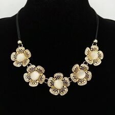 Fashion  flowers Bib Necklace Clavicular chain crystal mosaic Necklace GG113