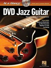 At A Glance Jazz Guitar Learn to Play Beginner Lesson Tutor Music Book & DVD NEW