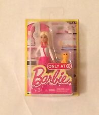 "NIB Mattel Barbie ""I can be"" Veterinarian Doll with Dog Figure 4"""