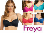 Freya Fever Sweetheart Bikini Top 3327 Black Pink Red Blue * Bra Sized Swimwear