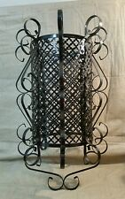 Vintage Chandelier type Antique Metal Bird Cage Light Ceiling Fixture Lamp cover