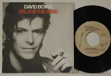 DAVID BOWIE : WILD IS THE WIND / GOLDEN YEARS    -    1982  ITALY  7""