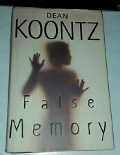 False Memory by Dean Koontz  (Hardcover with dust jacket)