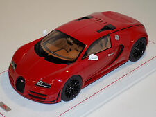 1/18 MR Bugatti Veyron SuperSport All Red Model Lmtd 30 pcs Alcantara base