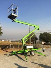 New 2017 Nifty TM34HE Tow Behind Niftylift Boom Lift 40' Work Height
