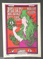 Vintage 1966 Jim Kweskin Jug Band Big Brother & The Holding Company Poster