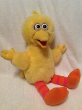 Sesame Street Talking Bird Plush Toy 1995 TYCO