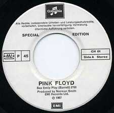 "PINK FLOYD ""SEE EMILY PLAY"" RE SWITZERLAND 1967/77 EX"