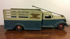 Vintage Buddy L Deluxe Rider Delivery Truck Original Paint 1930's Toy Truck Nice