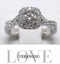 VERA WANG DIAMOND ENGAGEMENT RING BRIDAL LOVE COLLECTION 1.00 TCW 14KT  WG