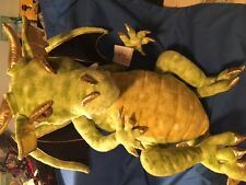 NWT Green Enchanted Dragon Puppet by The Puppet Company