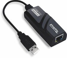 Plugable USB 2.0 to 10/100/1000 Gigabit Ethernet LAN Wired Network Adapter