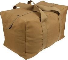Heavy Duty Cotton Canvas Large Military Parachute Cargo Bag