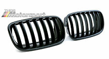 BMW OEM M Performance Black Kidney Grille Set X6 E71/E72 08-14, X5 E70 07-13 SAV