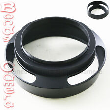 55 mm 55mm Metal Vented Lens Hood for Leica Summicron M R Voigtlander black