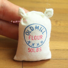 Dollhouse Miniature 1:12 Kitchen Food A Bag Of Flour Height 4.5cm SPO376