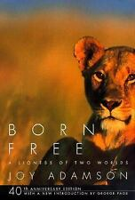 Born Free: A Lioness of Two Worlds Joy Adamson Paperback
