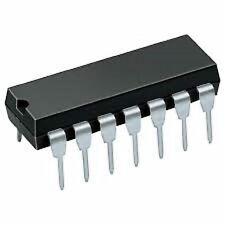2 X 74ALS74 CMOS INTEGRATED CIRCUIT DIP-14 DM74ALS74AN FREE DELIVERY UK STK 2PCS