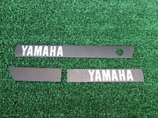 # Yamaha RX100 RX125 RS100 RS125 Emblem Decal Engine Cover Set NOS