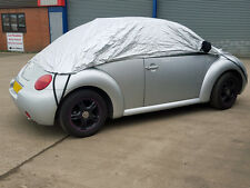 VW Volkswagen Beetle Convertible 1999 on Half Size Car Cover