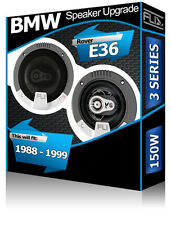 "BMW 3 Series E36 Rear Side Shelf speakers Fli 4"" 10cm car speaker kit 150W"