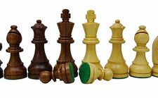 Staunton Golden Rose Wood Heavy Chess Pieces Hand Crafted 32 Chessmen Game Gift
