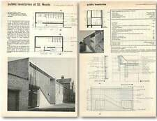 1961 Public Lavatories At St Neots Design, Plans