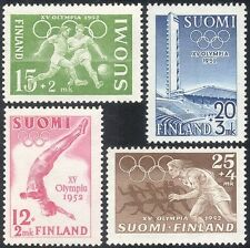 Finland 1952 Olympic Games/Olympics/Football/Sports/Stadium/Buildings 4v n43956