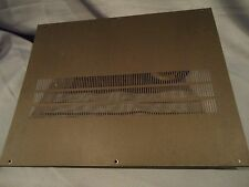 TEAC A-3340 Reel To Reel Player Parting Out Back Cover Panel