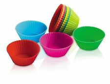 "Zeal Bake & Serve Mini Silicone 2"" Muffin / Cupcake Cups / Cases - Set of 12"