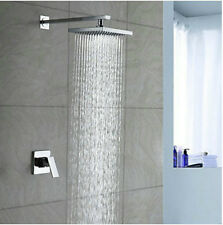 Luxury Bath Time faucet mixer tap chrome rain bathroom Shower set
