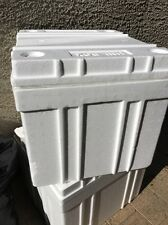 "Styrofoam shipping container 18"" X 16"" X 12"" Insulated Cooler Foam Box White"