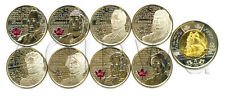 Canada 9 Quarters 2012-2013 War of 1812 year full set UNC (#722)