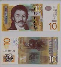Serbia 10 dinari 2006 FDS  UNC   Pick 46  lotto 2774