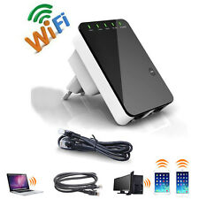 Wireless 5in1 Wifi Repeater Mini Router WPS WLAN 300 Mbit Hotspot Verstärker CE°