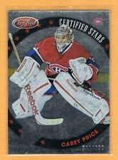 2012-13 Certified Stars Carey Price /999 Montreal Canadiens #S12
