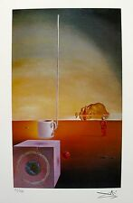 Salvador Dali GIANT FLYING MOCHA CUP Facsimile Signed & Numbered Giclee