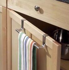 2 Xover porta asciugamani Rack bagno Ferroviario Gruccia Armadio Da Cucina Bar Gancio