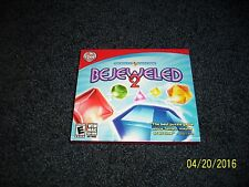 Bejeweled 2 (PC, Mac, 2009) Factory Sealed with Y folds