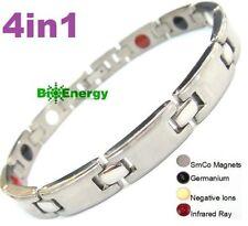 Magnetic Energy Germanium Power Bracelet Titanium 4in1 Bio Armband Arthritis